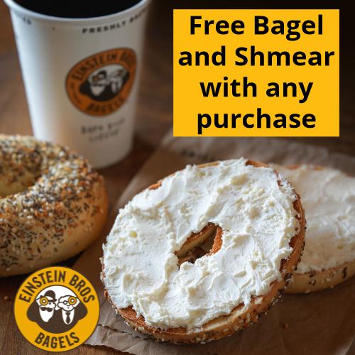 einstein free bagel