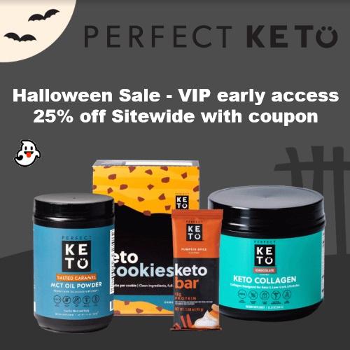 perfect keto halloween sale